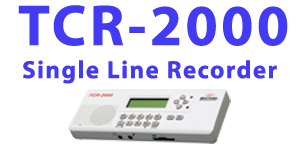 TCR 2000 Call Recording Device